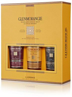 Glenmorangie Malt Whisky Pioneering Taster Pack 3x35cl