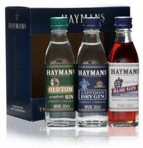 Hayman's Best of British Gin Gift Pack 3x5cl