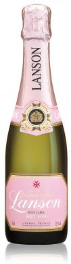 Lanson Rose Label Champagne Half Bottle Brut NV 37.5cl