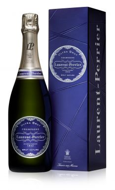 Laurent Perrier Ultra Brut Champagne 75cl NV Gift Box