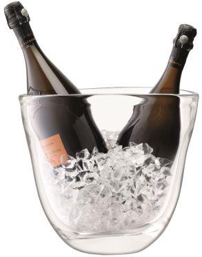 LSA Celebrate Dual Champagne Bucket - Clear H27cm
