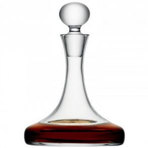 LSA Ship Decanter 1L Handmade Glass Decanter Bar Collection