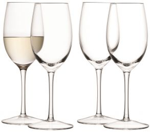 LSA Wine Collection White Wine Glasses - 260ml (set of 4)