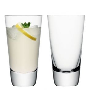 LSA Madrid Highball Clear - 400ml (Set of 2)