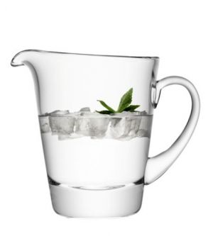 LSA Madrid Jug (Wide) Clear Glass Jug - Clear 1.3L