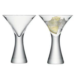 LSA Moya Cocktail Glasses - 300ml (Set of 2) Gift Box