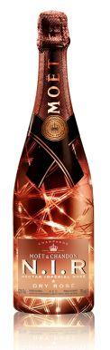 Moët & Chandon Rosé N.I.R Illumination NV Champagne 75cl