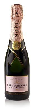 Moet & Chandon Rose Brut Imperial Champagne NV Half Bottle 37.5cl
