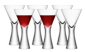 LSA Moya Wine Glass - Clear 395ml (Set of 6)