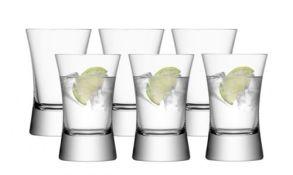 LSA Moya Tumbler Glasses - Clear 330ml (Set of 6)