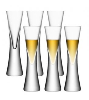 LSA Moya Liqueur / Vodka Glasses - Clear 50ml (Set of 6)
