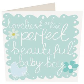 Most Perfect Beautiful Baby Boy Gift Card