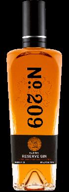 No.209 Cabernet Sauvignon Barrel Reserve Gin 70cl