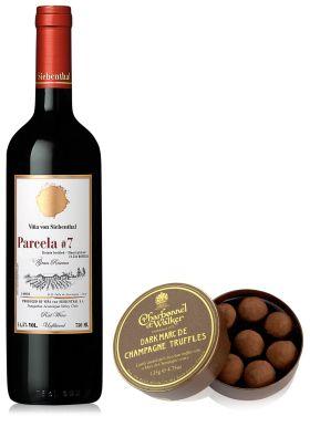 Vina Von Siebenthal Parcela #7 75cl & Dark Truffles 135g