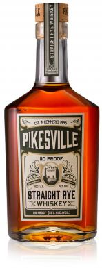 PikesVille Straight Rye Whiskey 6yr 75cl