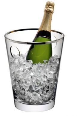 LSA Savoy Champagne Ice Bucket - Platinum