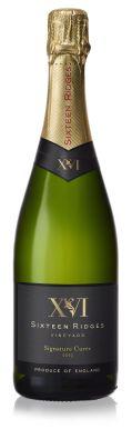 Sixteen Ridges Signature Cuvee 2013 English Sparkling Wine 75cl