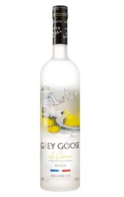Grey Goose Vodka - Citron Lemon Vodka 70cl