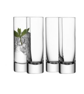 LSA Bar Collection Long Drink Glasses - 250ml (set of 4)