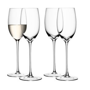 LSA Wine Collection White Wine Glasses - 340ml (Set of 4)