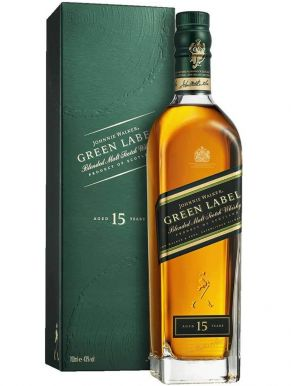 Johnnie Walker Green Label 15 Year Blended Malt Scotch Whisky 70cl