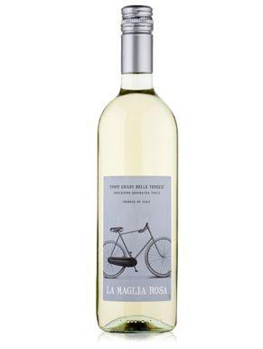 La Maglia Rosa Pinot Grigio White Wine 75cl