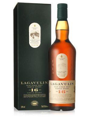 Lagavulin 16 Yr Old Single Malt Scotch Whisky 70cl