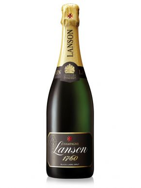 Lanson Black label Champagne Brut NV 75cl Gift Box