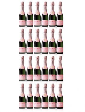 Lanson Rose Label Champagne Brut NV Case Deal 24 x 20cl