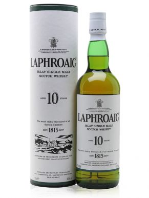 Laphroaig 10 Yr Old Single Malt Whisky 70cl