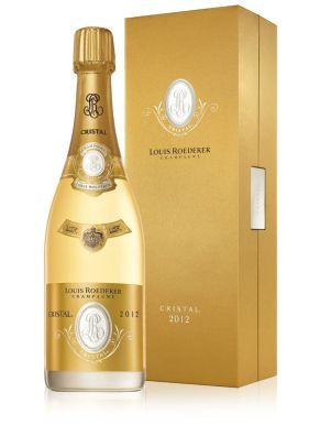 Louis Roederer Cristal 2012 Vintage Champagne 75cl