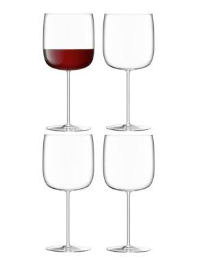 LSA Borough Grand Cru Wine Glasses - Clear 660ml x 4