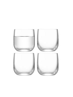 LSA Borough Shot Glasses - Clear 75ml x 4