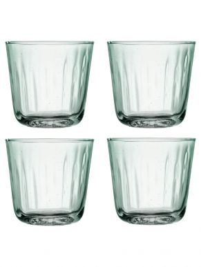 LSA Mia Recycled Glass Tumblers - 250ml (Set of 4)