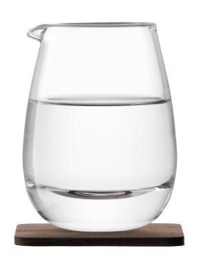 LSA Whisky Islay Jug & Walnut Coaster - 300ml