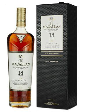Macallan 18yr Old Sherry Oak Speyside Single Malt Whisky 70cl