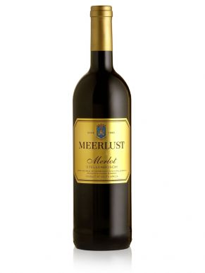Meerlust Merlot 2013 Red Wine South Africa 75cl Gift Tin