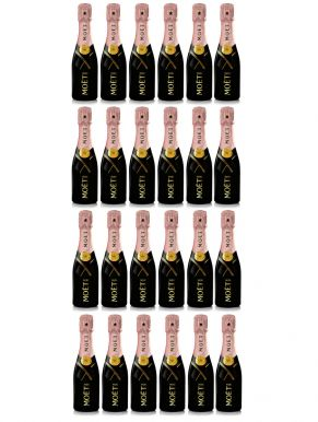 Moet & Chandon Rose Champagne NV Case Deal 24 x 20cl
