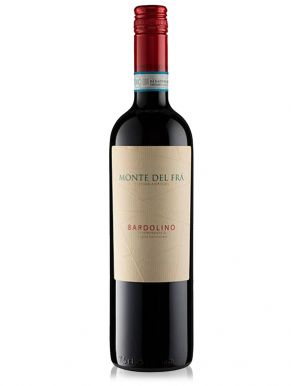 Monte del Fra Bardolino Red Wine Italy 75cl