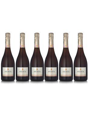 Nicolo Brut Rosé Champagne 75cl Case Deal 6x75cl
