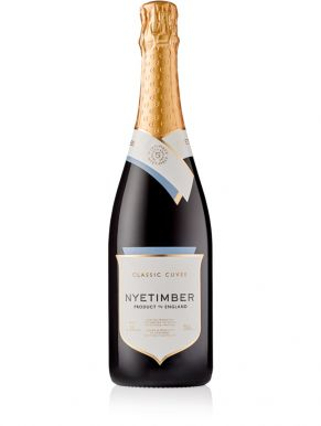 Nyetimber Classic Cuvée Brut Sparkling Wine 75cl Gift Box