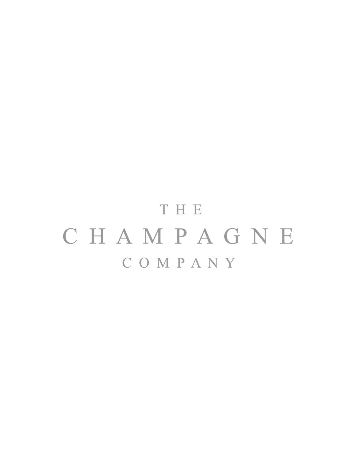 Perrier Jouet Blason Rose Champagne & 2 LSA Moya Champagne Flutes