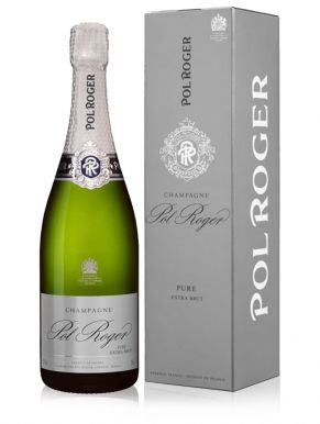 Pol Roger Pure Extra Brut Champagne 75cl Gift Box