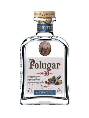 Polugar No.10 Juniper Old Russian Gin 70cl