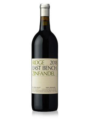 Ridge East Bench Zinfandel 2018 Red Wine 75cl
