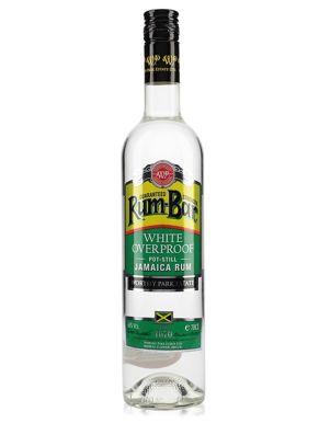 Rum-Bar by Worthy Park Silver Overproof Rum 70cl