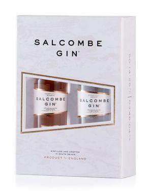 Salcombe Distilling Co. Miniature Gin Gift Set 2x5cl Bottles
