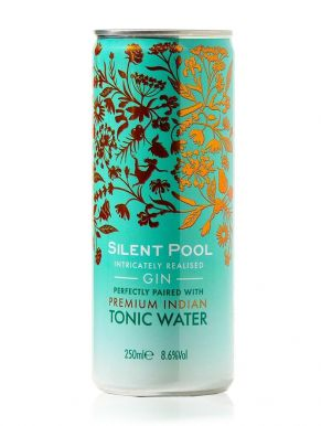 Silent Pool Gin and Tonic Pre-Mix Can 25cl