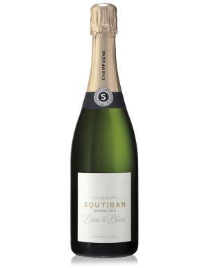 Soutiran Blanc de Blancs Grand Cru Champagne 2011 75cl