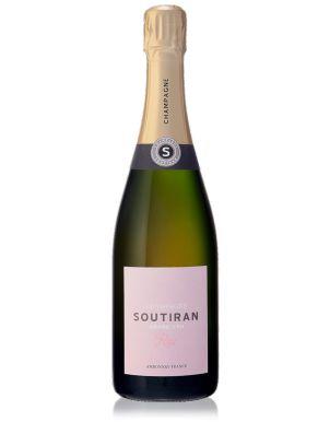 Soutiran Rosé Grand Cru Champagne NV 75cl